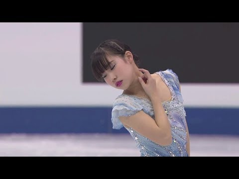 22 JPN Mai MIHARA - 2018 Four Continents - Ladies FS