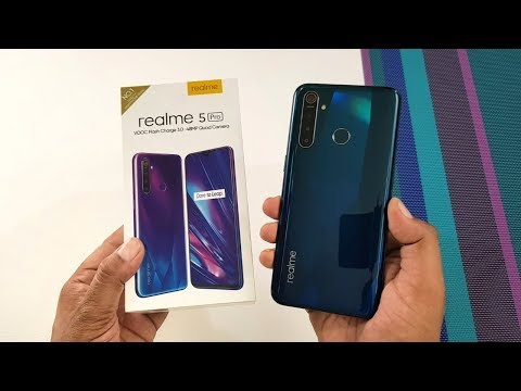 Realme 5 Pro Crystal Green Unboxing Camera Test