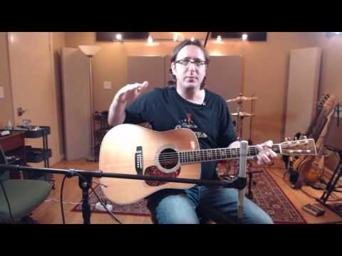 Miking Acoustic Guitar 101 - YHRS