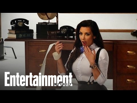 Kim, Kourtney, and Khloe Kardashian Have a Sexy Photoshoot & Talk Business | Entertainment Weekly