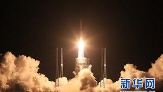 现场壮观视频:长征七号运载火箭首飞成功