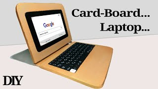 How to Make a Laptop Using Card-Board.
