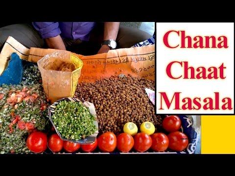 Indian Street Food - Chana Chaat Masala | Mumbai 😋 Yummy Street Chaat