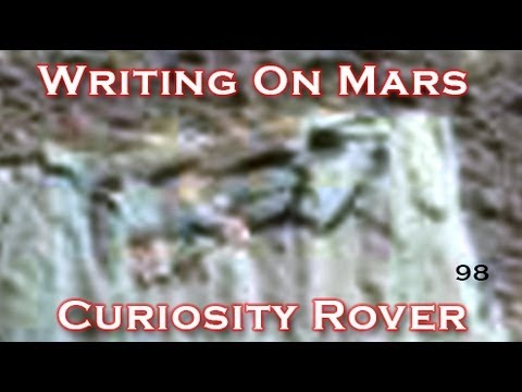 Amazing - Written Text & Carvings Found On Mars Stone