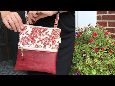 DIY Bolsa 3 Zíperes - DIY 3 Zippers Bag