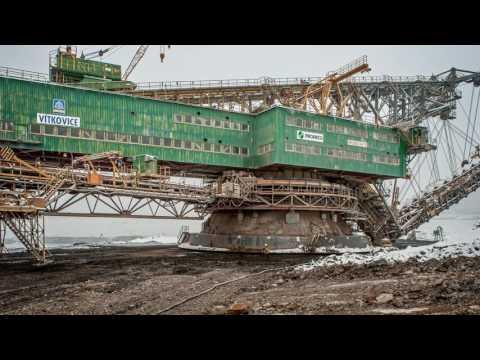 RK 5000 Bucket Chain Excavator - Timelapse