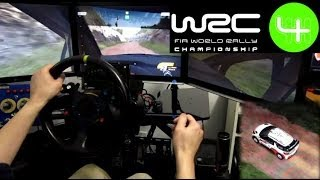 WRC 4 - PC - Eyefinity triple screen - Obutto Revolution