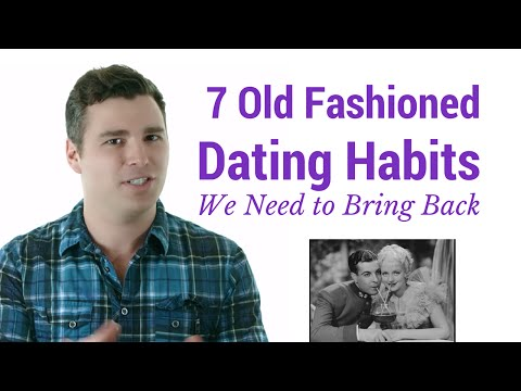 dating old fashioned man