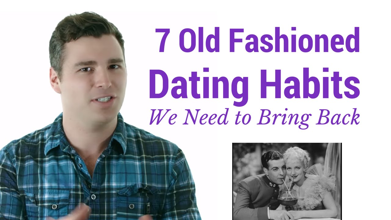 9 old school dating habits