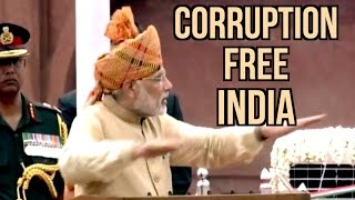 PM Narendra Modi Funny Comments On Corruption | Corruption-Free India | 69th Independence Day