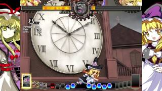 Touhou-Hisoutensoku- Yukari (Alex) VS Marisa (Erik)