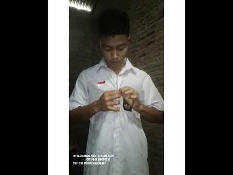 Remaja SMA Buka Seragam Flex Muscle 16 Tahun, Andre || Indonesia Berotot