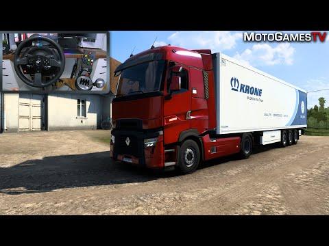 Euro Truck Simulator 2 - Renault Trucks T-High Evolution Customization And Gameplay