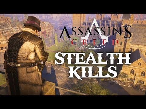 Assassin's Creed Syndicate Stealth Gameplay - Stealth Kills & Assassinations