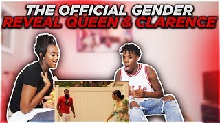 THE OFFICIAL GENDER REVEAL OF QUEEN AND CLARENCE!!! (REACTION)