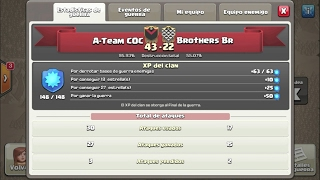 A Team COC vs Brothers Br - Clash of Clans