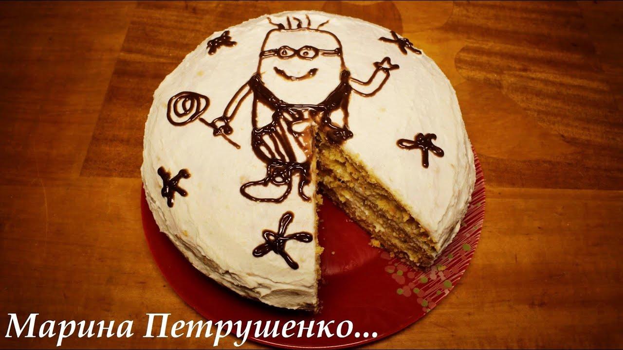 рецепт сметанкового торта в мультиварке