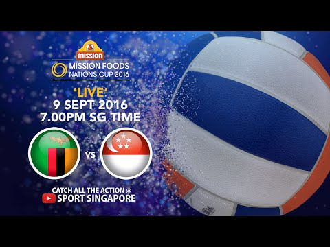 Netball: Zambia vs Singapore | Mission Foods Nations Cup 2016