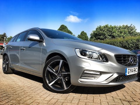 Volvo V60 2.0 TD D3 R-Design Lux for Sale at CMC-Cars, Near Brighton, Sussex