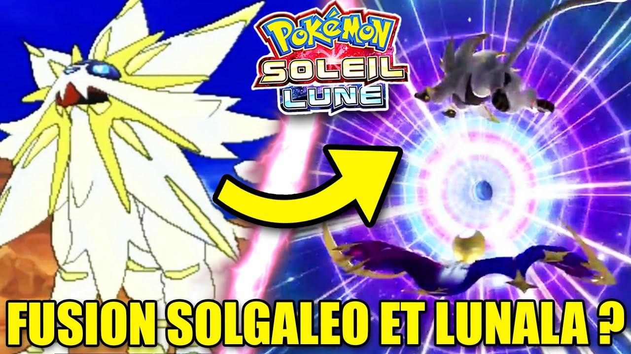 Fusion entre solgaleo lunala dans pokemon soleil et lune youtube - Dessin pokemon soleil et lune ...