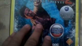 Смотрим диски PlayStation 3  моего друга!!!!!!!!