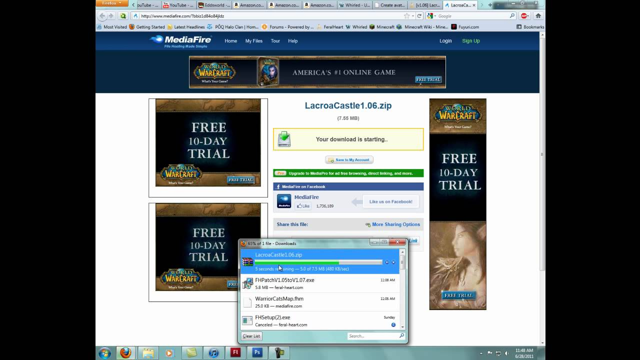 Feralheart Tutorial Downloading And Installing Maps Youtube