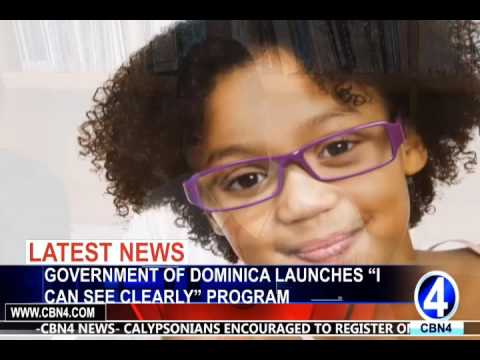 """GOVERNMENT OF DOMINICA LAUNCHES """"I CAN SEE CLEARLY"""" PROGRAM"""