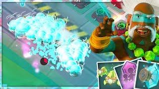 NEW Boom Beach Hero! Maxed Dr. Kavan Ability Gameplay! (Update Sneak Peek)