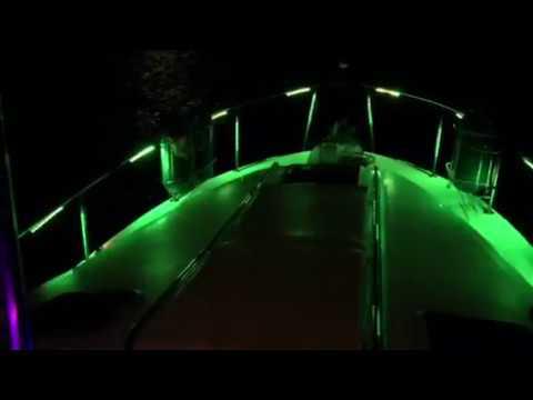 Led lights on my yacht