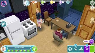 In this video, I show u my sim vomiting multiple times...enjoy.