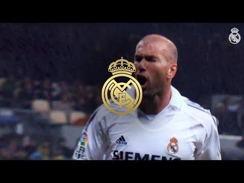 Zinedine Zidane Best Goals at Real Madrid