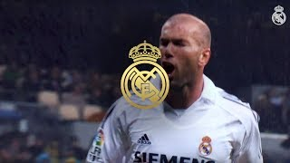 Zinedine Zidane Best Goals at Real Madrid