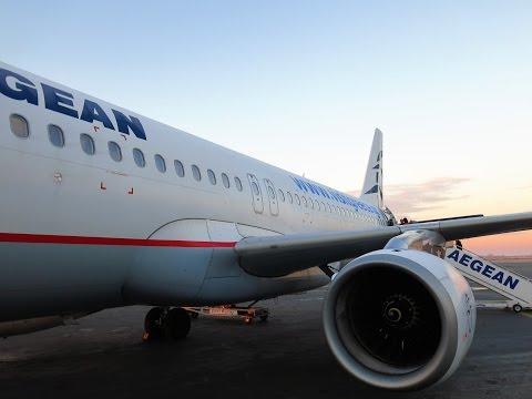A320 Aegean Airlines Салоники-Москва