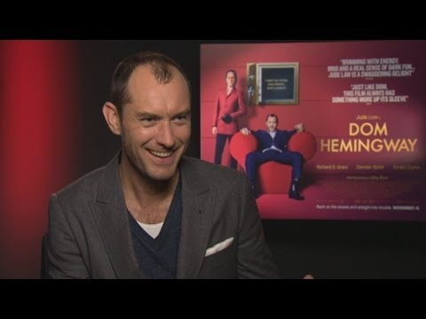Jude Law interview: Jude on Dom Hemingway, pet hates and getting fat and naked