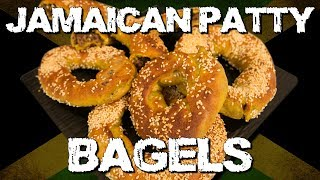 Jamaican Patty Bagels - Handle it