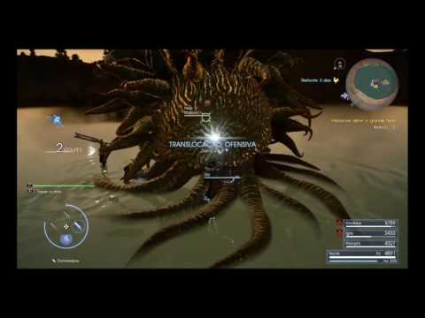 Final Fantasy XV Mob Hunting : 75 - No Stopping the Great Stink ( Level 38 )