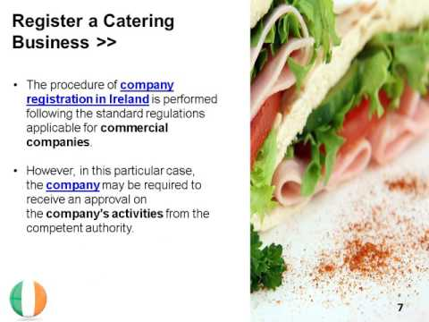 Open a Catering Business in Ireland
