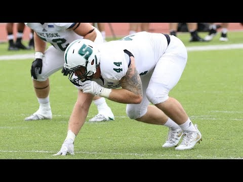 Marcus Martin (Slippery Rock DE) vs IUP 2016