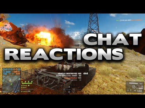 Battlefield 4 Cheater Accuses Me Of Cheating - Chat Reactions 6