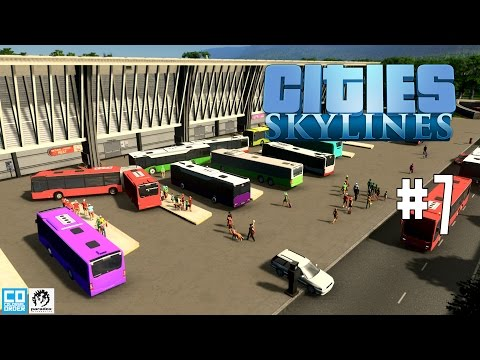 Cities: Skylines #1.7 - Public Transportation