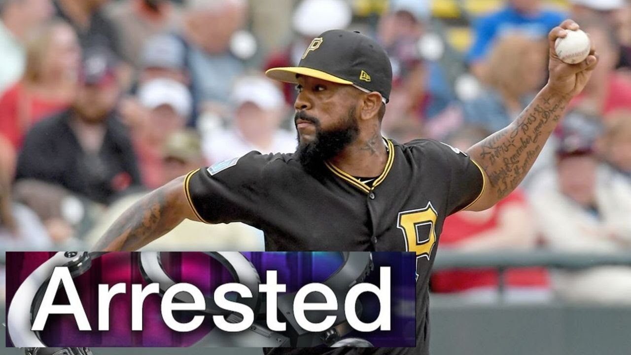 Pittsburgh Pirates reliever Felipe Vazquez arrested for solicitation of a child in Florida
