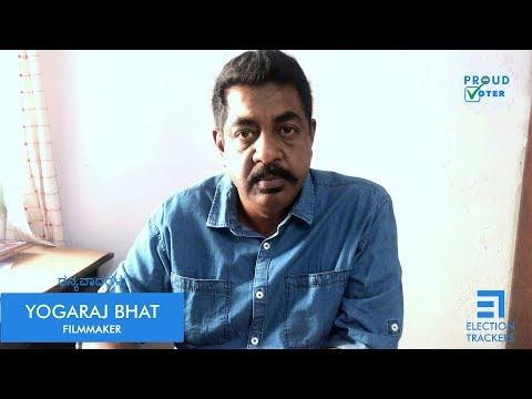 Filmmaker Yogaraj Bhat | Election Trackers | TRACK MAADI