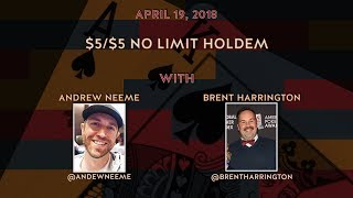 $10/$25 No Limit Holdem with Special Guests Jason Somerville, Lex Veldhuis, and Andrew Neeme thumbnail
