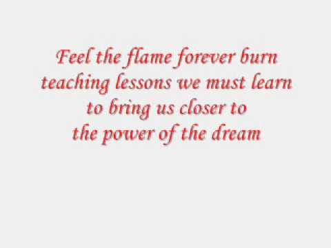 Power of the dream(Lyrics)