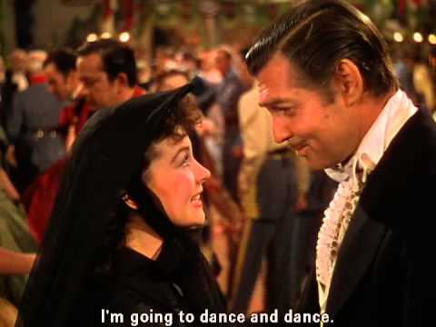 E O Vento Levou Dublado A Dança