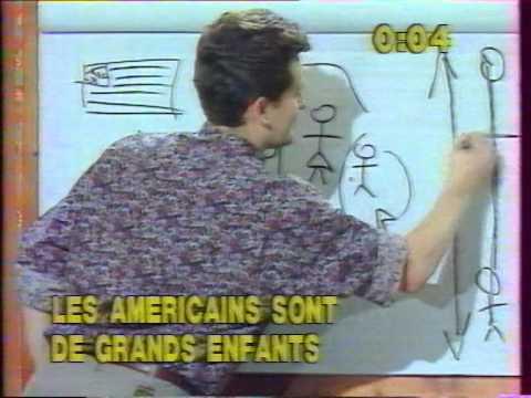 """""""DESSINEZ C'EST GAGNÉ"""" Patrice LAFFONT avec COLETTE (Juin 1990)"""
