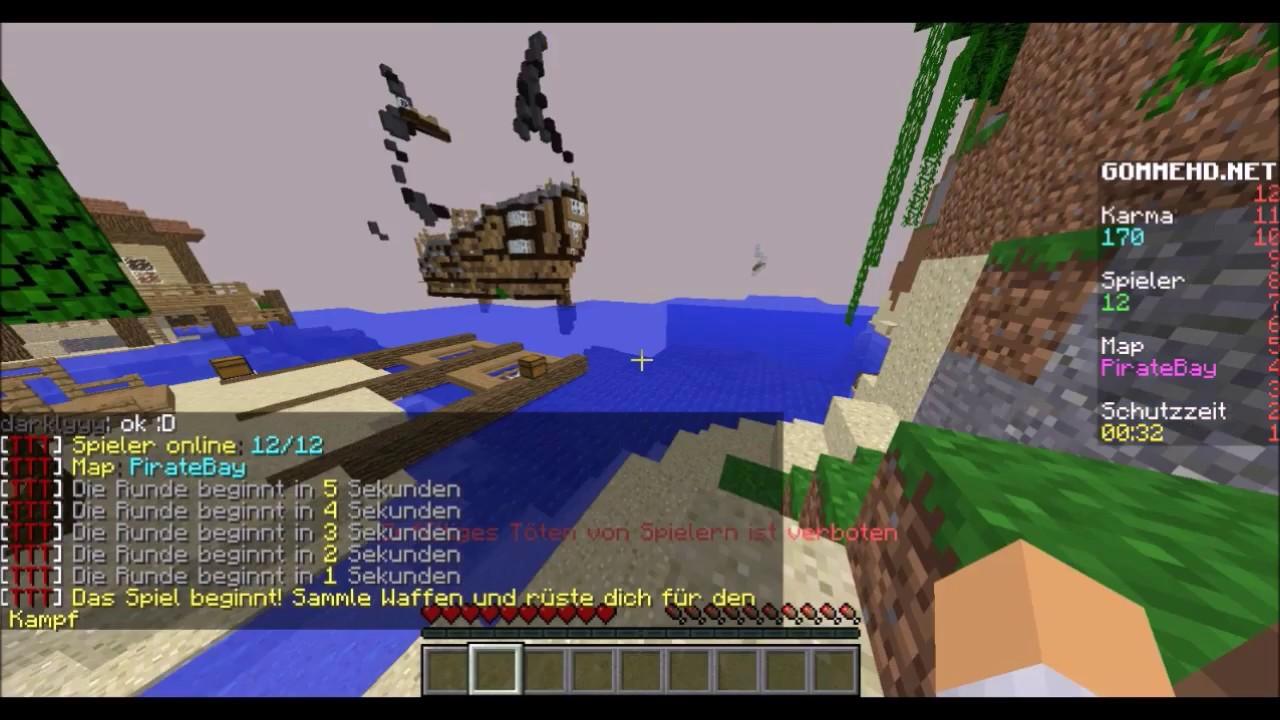 Mein Erstes Video Minecraft TTT Mit Vici YouTube - Minecraft ttt spielen