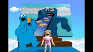 Roblox Escape Cookie Monster With Molly!