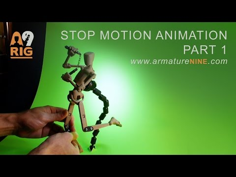 A9 Lectures - Stop Motion - Part 1 - Budget green screen setup