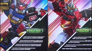 Beast-X Megazord & Beast Racer Zord Review (Power Rangers Beast Morphers Toys)